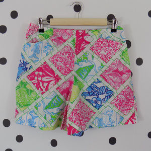 Lilly Pulitzer Jubilee Shorts Hollywood Patch 6